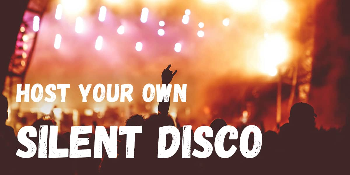 Host your own silent disco