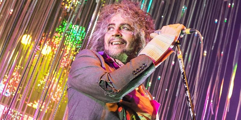 Flaming Lips - Wayne Coyne - First band to host a headphone concert