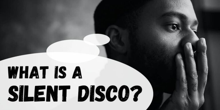What is a silent disco?