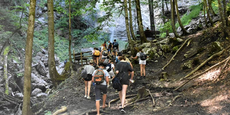 Hikes are a great event idea for students